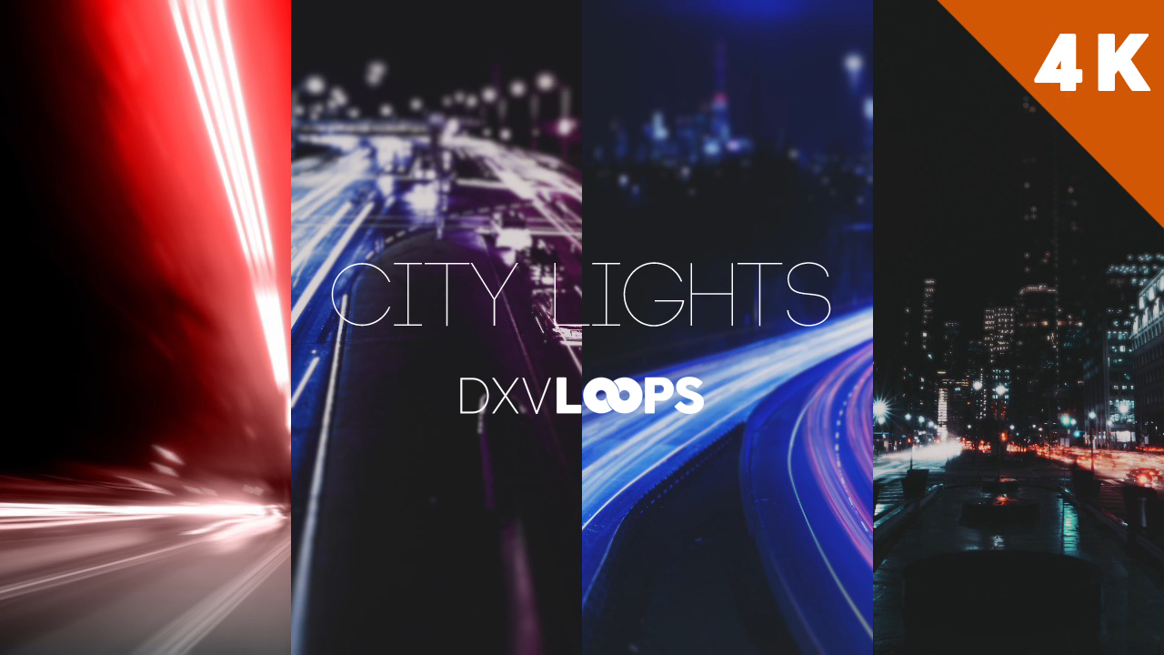 City Lights | DXVLoops
